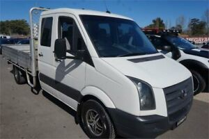 2009 Volkswagen Crafter 2EF1 MY09 35 LWB White 6 Speed Manual Cab Chassis Elderslie Camden Area Preview