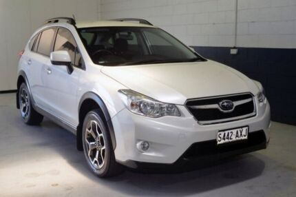 2013 Subaru XV G4X MY14 2.0i Lineartronic AWD White 6 Speed Constant Variable Wagon