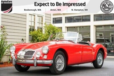 1960 MG MG A MKI Roadster 1960 MG MG A MKI Roadster in Chariot Red