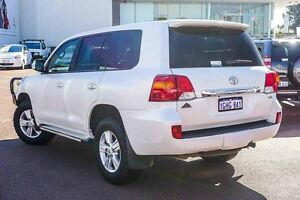 2014 Toyota Landcruiser VDJ200R MY13 Altitude White 6 Speed Sports Automatic Wagon Westminster Stirling Area Preview