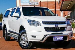 2014 Holden Colorado RG MY15 LS Crew Cab White 6 Speed Sports Automatic Utility Fremantle Fremantle Area Preview