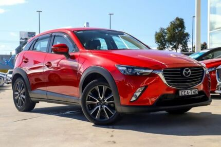 2016 Mazda CX-3 DK4W7A sTouring SKYACTIV-Drive i-ACTIV AWD Soul Red 6 Speed Sports Automatic Wagon Kirrawee Sutherland Area Preview