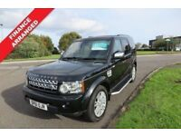LAND ROVER DISCOVERY 3.0 4 SDV6 XS,2012,7 Seats,Sat Nav,Leather,Air Con,Cruise,Parking Sensors,F.S.H