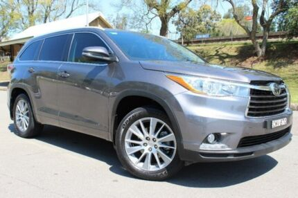 2015 Toyota Kluger GSU55R Grande AWD Grey 6 Speed Sports Automatic Wagon East Maitland Maitland Area Preview