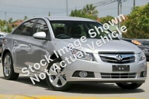 2010 Holden Cruze JG CDX Moroccan Blue 5 Speed Manual Sedan Mount Pleasant Mackay City Preview