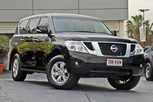 2015 Nissan Patrol Y62 MY15 TI Black 7 Speed Sports Automatic Wagon Yeerongpilly Brisbane South West Preview
