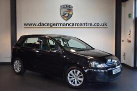 2010 60 VOLKSWAGEN GOLF 1.6 MATCH TDI BLUEMOTION TECHNOLOGY 5DR 103 BHP DIESEL