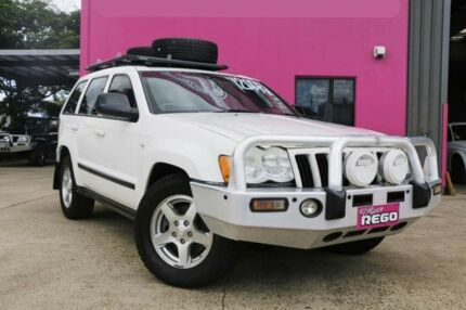 2008 Jeep Grand Cherokee WH MY2007 Laredo White 5 Speed Automatic Wagon