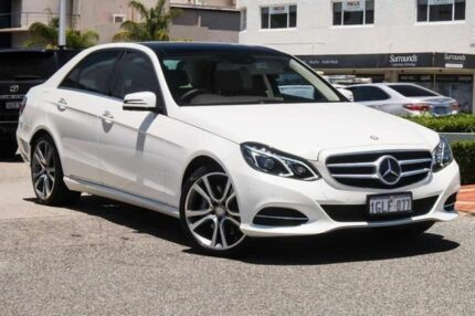2013 Mercedes-Benz E400 W212 MY13 7G-Tronic + White 7 Speed Sports Automatic Sedan Nedlands Nedlands Area Preview