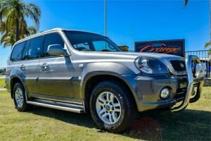 2004 Hyundai Terracan Highlander Silver 4 Speed Automatic Wagon Greenfields Mandurah Area Preview