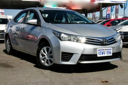 2015 Toyota Corolla ZRE172R Ascent S-CVT Silver Ash 7 Speed Constant Variable Sedan Osborne Park Stirling Area Preview