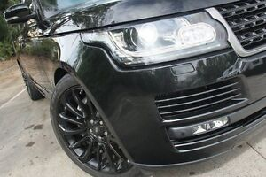 2013 Land Rover Range Rover LG Vogue SE SDV8 Black 8 Speed Automatic Wagon Petersham Marrickville Area Preview