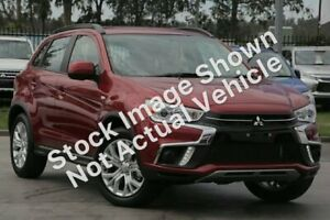 2018 Mitsubishi ASX XC MY19 ES 2WD Red 6 Speed Constant Variable Wagon