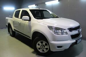 2013 Holden Colorado RG MY13 LT Crew Cab White 6 Speed Sports Automatic Utility Invermay Launceston Area Preview