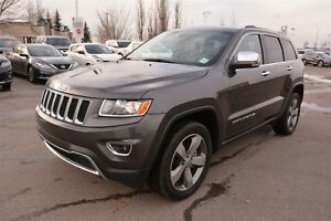 2016 Jeep Grand Cherokee LIMITED 4X4 Accident Free,  Navigation
