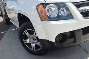 2010 Holden Colorado RC MY10 LX White 5 Speed Manual Cab Chassis Waitara Hornsby Area Preview