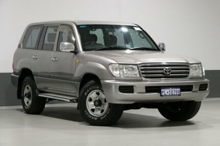 2005 Toyota Landcruiser UZJ100R GXL (4x4) Grey 5 Speed Automatic Wagon Bentley Canning Area Preview