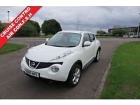 NISSAN JUKE 1.6 ACENTA,2010,Alloys,Air Con,Cruise Control,1 Previous Owner,Very Clean Vehicle,F.S.H