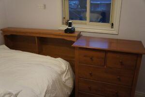 Double Headboard and Dresser