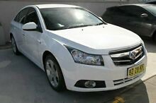 2010 Holden Cruze JG CDX White 5 Speed Manual Sedan Pennant Hills Hornsby Area Preview
