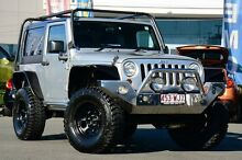 2012 Jeep Wrangler JK MY2012 Sport Silver 6 Speed Manual Softtop Wavell Heights Brisbane North East Preview