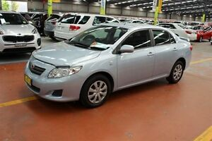2009 Toyota Corolla ZRE152R Ascent Blue 4 Speed Automatic Sedan Maryville Newcastle Area Preview
