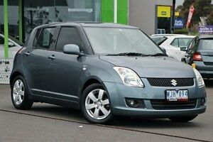 2008 Suzuki Swift RS415 S Grey 5 Speed Manual Hatchback Nunawading Whitehorse Area Preview