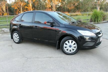 2009 Ford Focus LV CL Black 4 Speed Auto Seq Sportshift Hatchback Capalaba West Brisbane South East Preview
