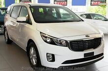2016 Kia Carnival YP MY16 SI Clear White 6 Speed Sports Automatic Wagon Yeerongpilly Brisbane South West Preview