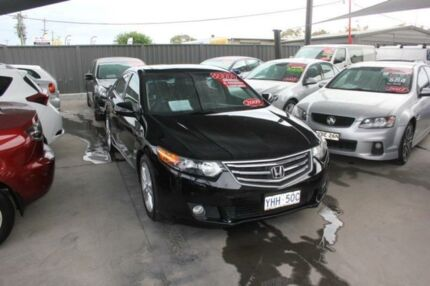 2009 Honda Accord 10 Euro Luxury Black 5 Speed Automatic Sedan Mitchell Gungahlin Area Preview