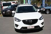 2013 Mazda CX-5 KE1021 MY13 Maxx SKYACTIV-Drive AWD Sport White 6 Speed Sports Automatic Wagon Mount Gravatt Brisbane South East Preview