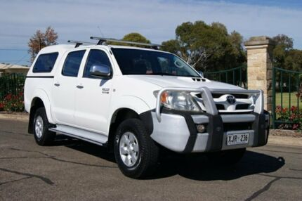 2006 Toyota Hilux KUN26R SR5 (4x4) 5 Speed Manual Dual Cab Pick-up Blair Athol Port Adelaide Area Preview