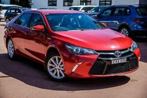 2015 Toyota Camry AVV50R Atara S Red 1 Speed Constant Variable Sedan Hybrid