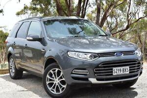 2013 Ford Territory SZ Titanium Seq Sport Shift Grey 6 Speed Sports Automatic Wagon St Marys Mitcham Area Preview