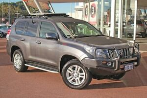 2011 Toyota Landcruiser Prado KDJ150R Kakadu Graphite 5 Speed Sports Automatic Wagon Myaree Melville Area Preview