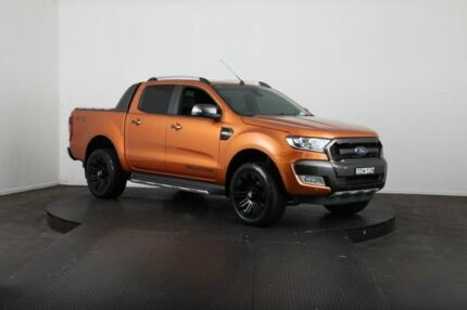 2016 Ford Ranger PX MkII Wildtrak 3.2 (4x4) Victory Gold 6 Speed Automatic Dual Cab Pick-up