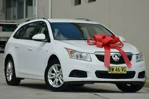 2013 Holden Cruze JH Series II MY13 CD Sportwagon White 6 Speed Sports Automatic Wagon Thornleigh Hornsby Area Preview