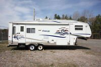 2005 KEYSTONE COUGAR 276 5TH WHEEL