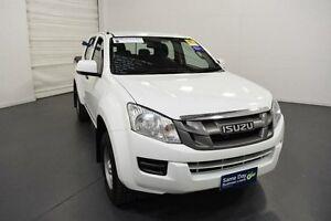 2014 Isuzu D-MAX MY14 SX Crew Cab White Manual Utility Moorabbin Kingston Area Preview