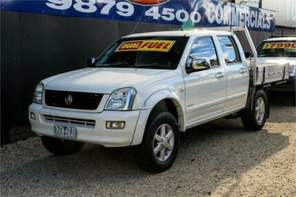 2003 Holden Rodeo RA LX Crew Cab White 5 Speed Manual Utility Ringwood East Maroondah Area Preview