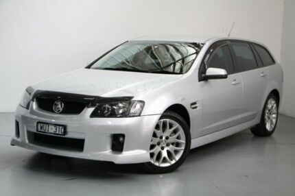 2008 Holden Commodore VE MY09 SV6 Sportwagon Silver 5 Speed Sports Automatic Wagon Port Melbourne Port Phillip Preview