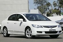2008 Honda Civic 8th Gen MY08 VTi-L White 5 Speed Automatic Sedan Campbelltown Campbelltown Area Preview
