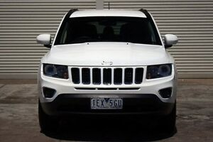 2015 Jeep Compass MK MY15 North CVT Auto Stick White 6 Speed Constant Variable Wagon Seaford Frankston Area Preview