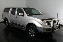 2012 Nissan Navara D40 S5 MY12 ST-X 550 Silver 7 Speed Sports Automatic Utility Welshpool Canning Area Preview
