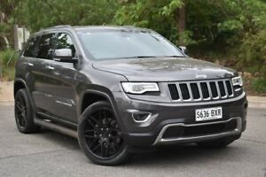 2013 Jeep Grand Cherokee WK MY2014 Limited Grey 8 Speed Sports Automatic Wagon St Marys Mitcham Area Preview