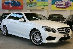2014 Mercedes-Benz E400 W212 805MY 7G-Tronic + White 7 Speed Sports Automatic Sedan Southbank Melbourne City Preview