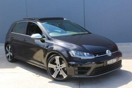 2014 Volkswagen Golf VII MY15 R 4MOTION Black 6 Speed Manual Hatchback