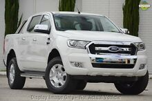2016 Ford Ranger PX MkII XLT Double Cab Cool White 6 Speed Manual Utility Greenacre Bankstown Area Preview