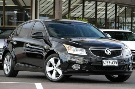 2013 Holden Cruze JH Series II MY14 Equipe Black 6 Speed Sports Automatic Hatchback Christies Beach Morphett Vale Area Preview