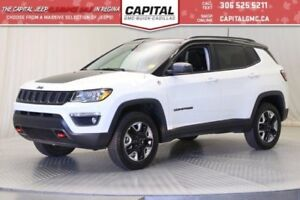 2017 Jeep Compass Trailhawk 4WD*Leather*Sunroof*Nav*